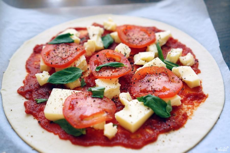 Пицца Маринара - фото шаг 5