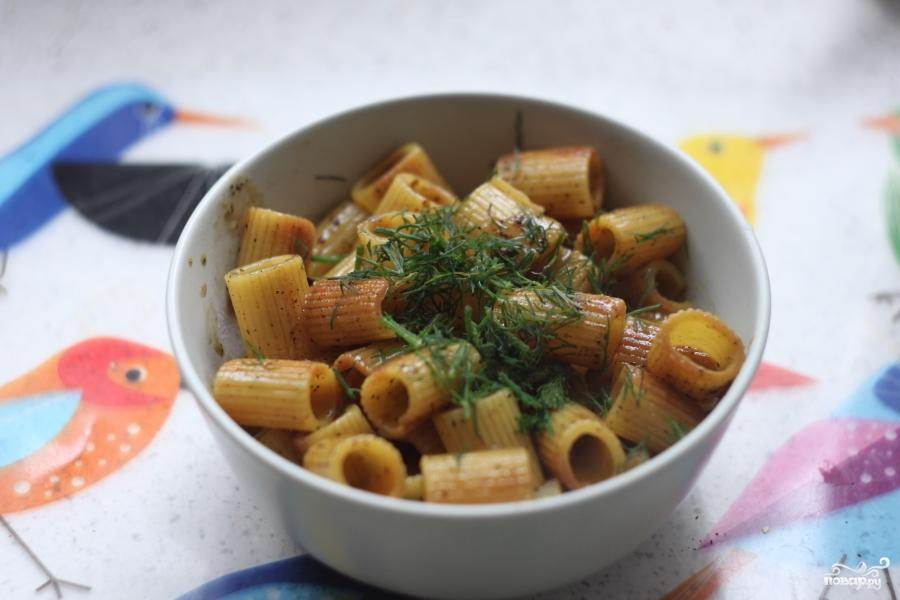 Жареные макароны - фото шаг 6