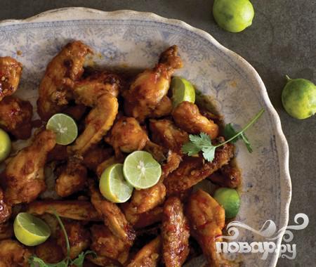 Перуанские куриные крылышки