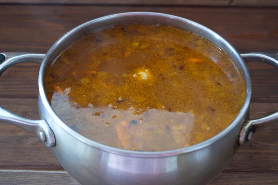 Диетический суп на курином бульоне - фото шаг 6