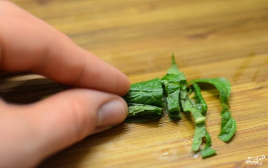 Фруктовый салат с орехами - фото шаг 5