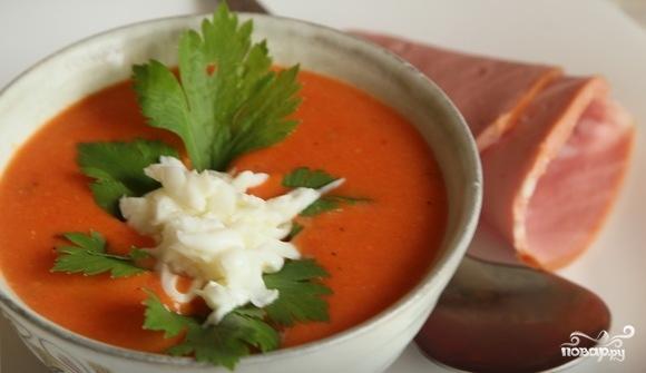 Суп-пюре из томатов - фото шаг 6