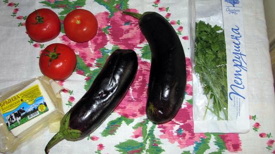Рецепт Баклажаны по-балкански