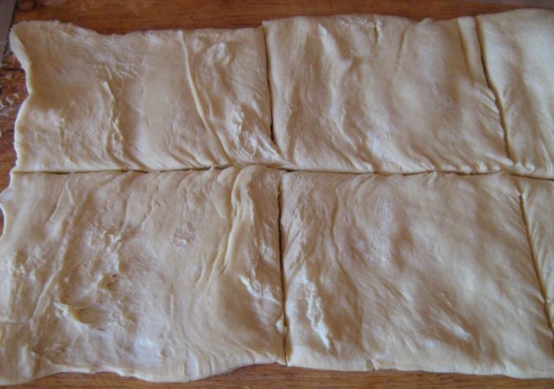 Рецепт Слоеные пирожки с повидлом