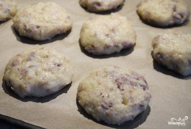 Картофельники из пюре - фото шаг 3