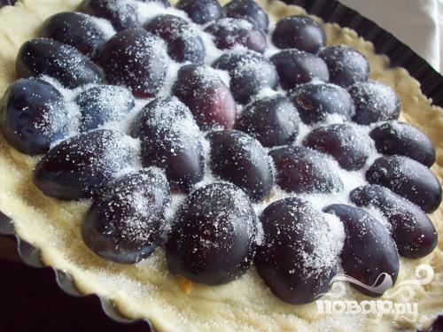 Сливовый пирог - фото шаг 4