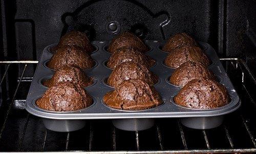 Шоколадный кекс пятиминутный - фото шаг 5