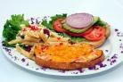 Крабовый бутерброд