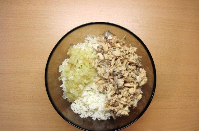 Начинка для пирожков из риса - фото шаг 4