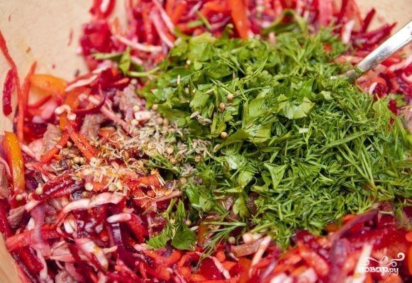 Салат по-китайски - фото шаг 11