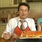 Рецепт Пирог с минтаем и грибами
