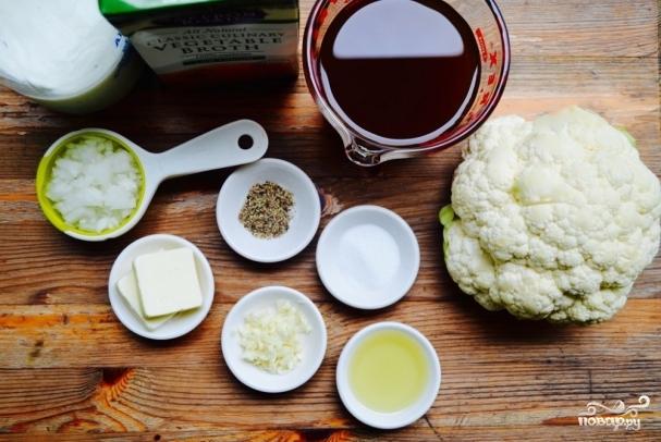 рецепты приготовления цветной капусты в сливках