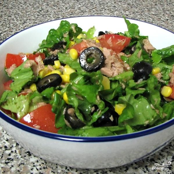 Салат из тунца консервированного - фото шаг 8