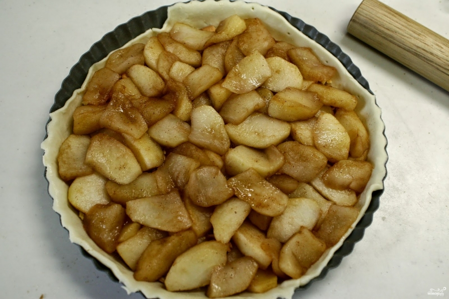 Яблочный пай - фото шаг 3