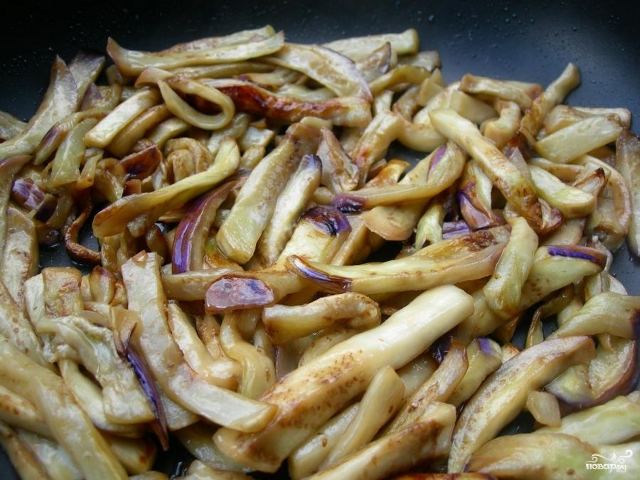 Салат из баклажанов по-корейски - фото шаг 2