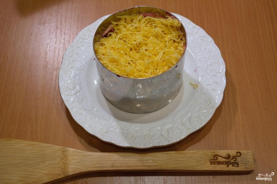 Селедка под шубой порционная - фото шаг 6