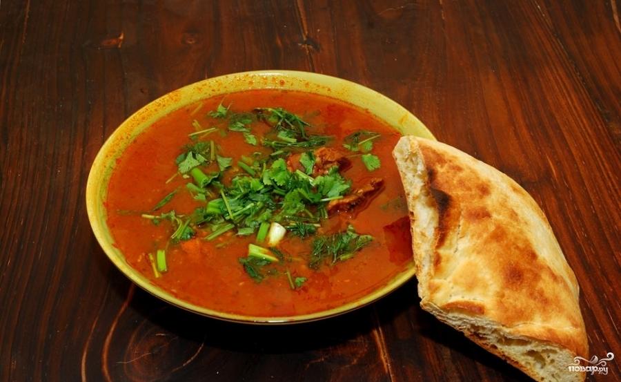 суп харчо рецепт с ткемали рецепт с фото