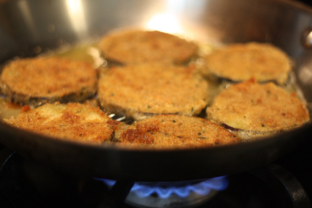 Жареные баклажаны с сыром - фото шаг 2
