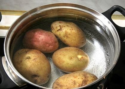 Рецепт Клецки картофельные с мясом