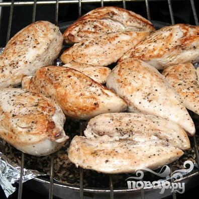 Копченые куриные грудки - фото шаг 4