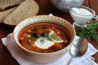 Суп-солянка мясная