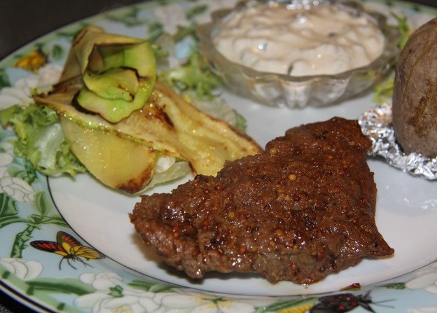 Говядина с горчицей в духовке - фото шаг 6