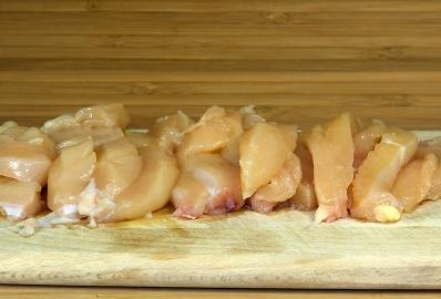 Курица с грибным соусом - фото шаг 2