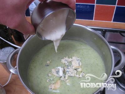 Сливочный суп с брокколи и картофелем - фото шаг 6