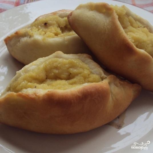 Пирожки с горохом - фото шаг 7
