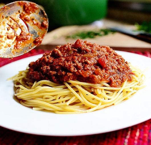 Мясной соус для спагетти - фото шаг 14