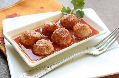 Рецепт Мясные тефтели с рисом