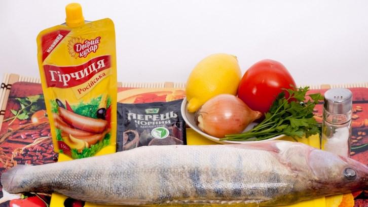 Судак под соусом в духовке - фото шаг 1