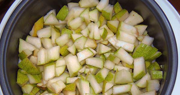 Рецепт Варенье из груши в мультиварке
