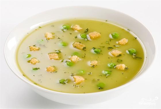 Рецепт Гороховый суп в пароварке