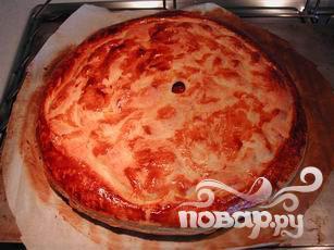 Пирог с карамельными яблоками - фото шаг 15