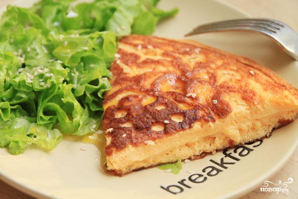 Рецепт Омлет с сыром на пару