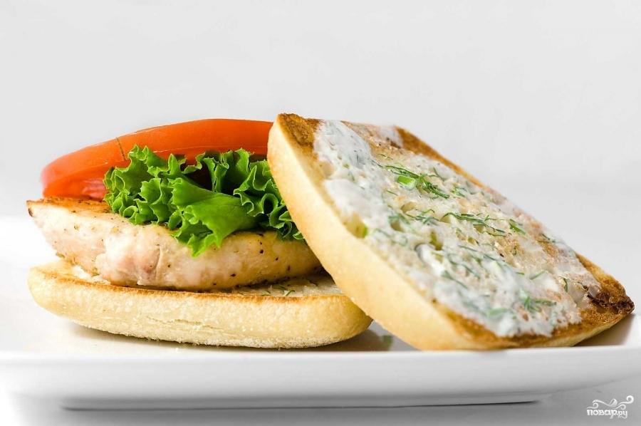 Рецепт Бутерброды с курицей