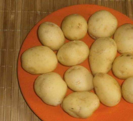 Рецепт Картофель с зеленью и чесноком