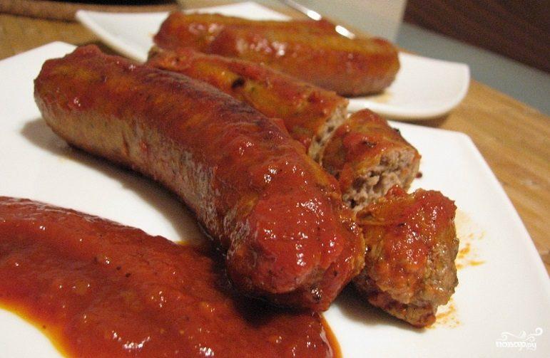 Рецепт Колбаски из соевого фарша