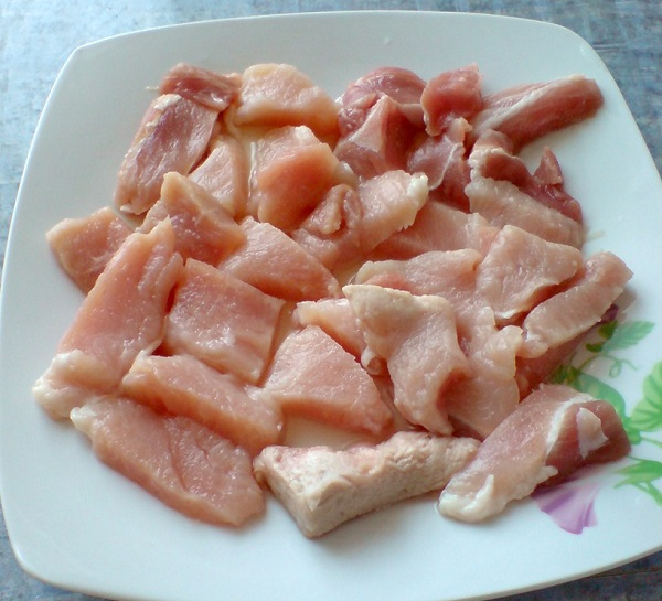 Рецепт Свинина по-французски в мультиварке