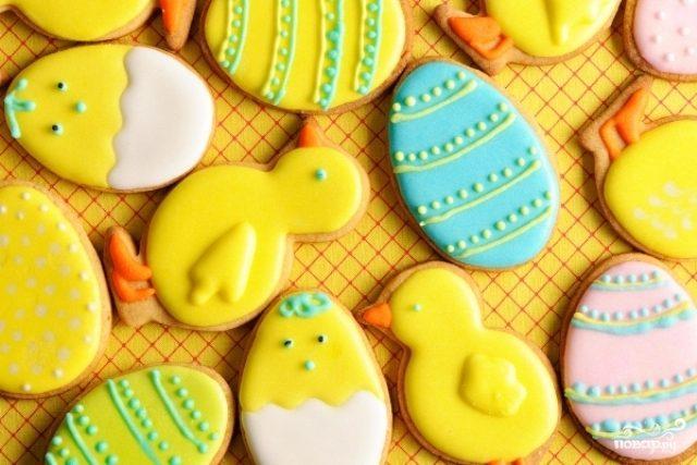 Рецепт Пасхальное медовое печенье