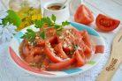 Острая закуска из помидоров