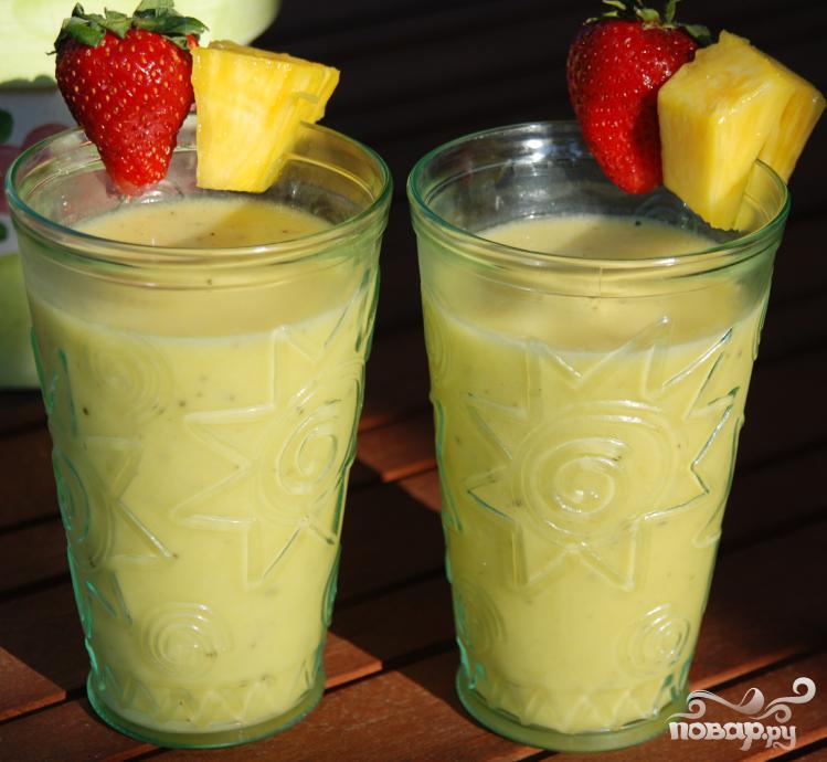 Витаминный напиток Тропики - фото шаг 4