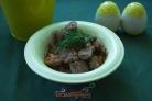 Мясо, тушеное с овощами