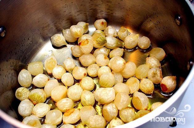 Говяжьи ребрышки с овощами и сливочным соусом - фото шаг 6