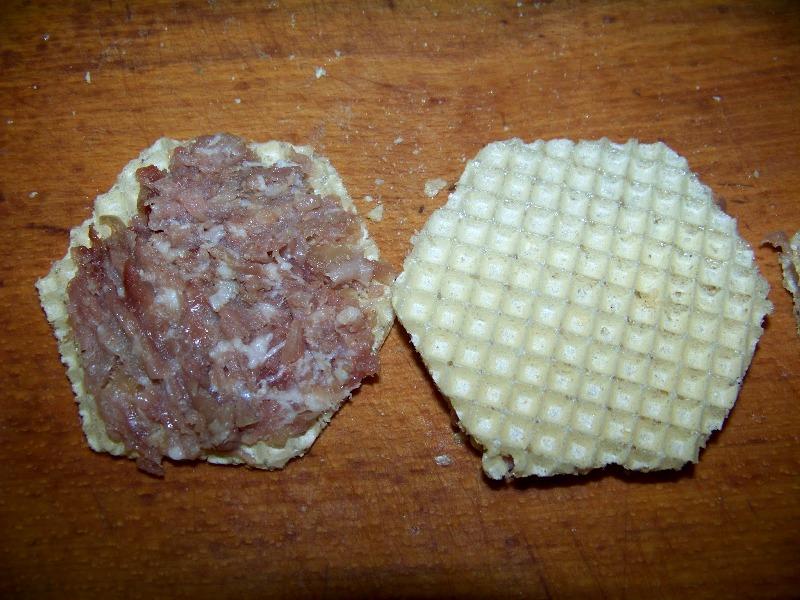 Рецепт Бризоли с вафлями