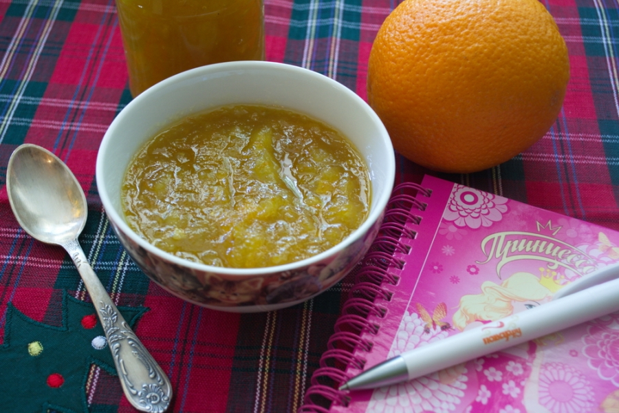 Апельсиновый джем на зиму - фото шаг 9