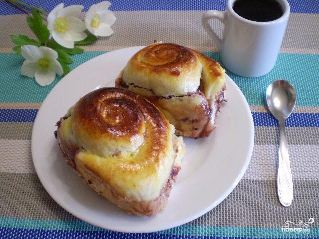 Булочки Улитки с вареньем, пошаговый рецепт с фото