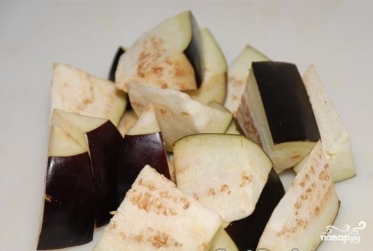 Баклажаны в кисло-сладком соусе - фото шаг 2
