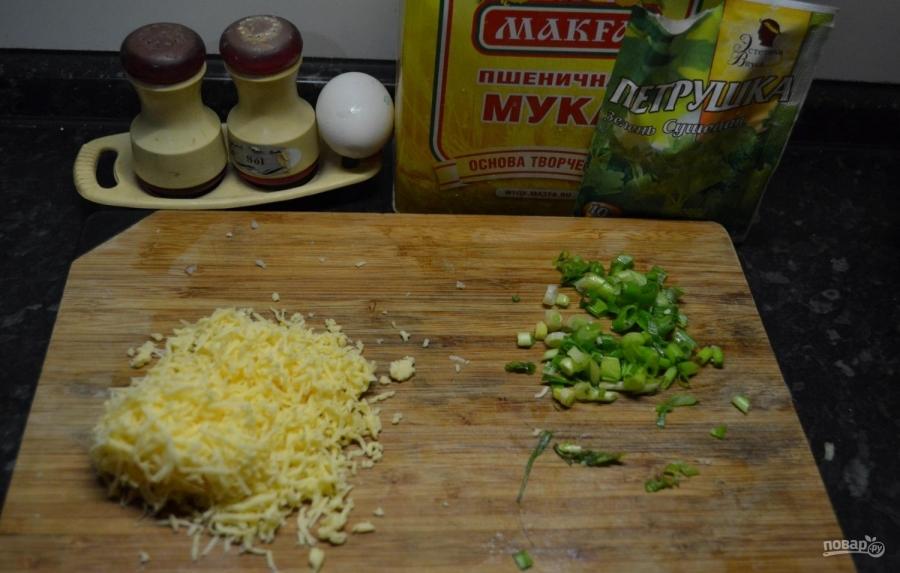 Картофель с начинкой - фото шаг 3